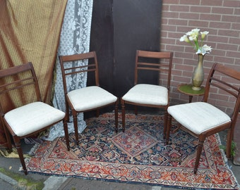 4 Solid Hardwood Dining Chairs