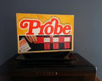 Vintage 1976 Probe Board Game Parker Brothers No. 201