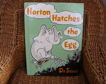 Dr.Seuss Horton Hatches The Egg Hardcover Oversized Book