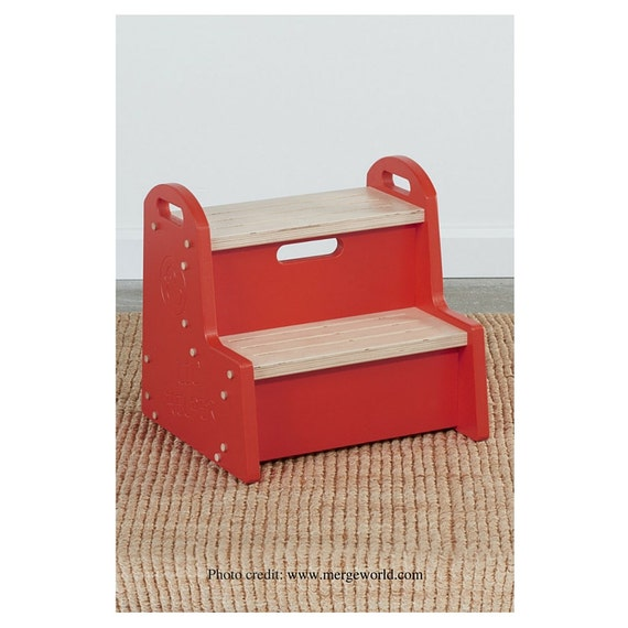 Wooden Step Stool Kids Step Stool Toddler By