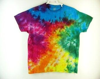 Tie Dye Crinkle T-Shirts Cotton