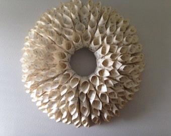 Hymnal Book Page Wreath