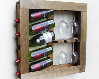 Wooden Wine Rack, Wooden Wine Holder