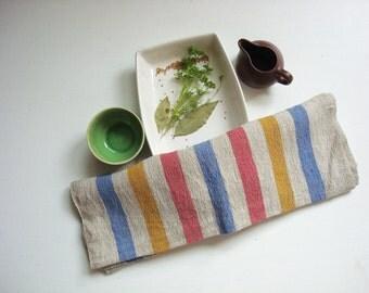 Soft Linen kitchen towels stonewashed tea towel dish towels hand towel by Luxoteks