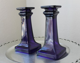 Squared Candle Holders (set of 2)