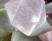 Icosahedron ~ clear Quartz Crystal