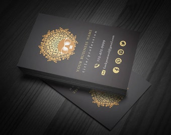 Funky Natual | Business Card Template | 1-Sided