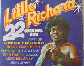 Little Richard 22 original hits LP