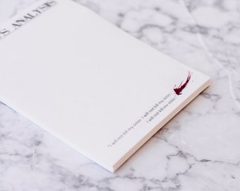 Dexter Inspired Custom Note Pad