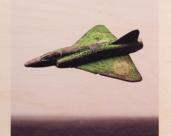 Green Jet Fighter