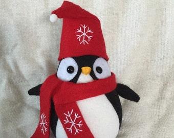 Christmas Penguin Stuffed
