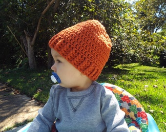 Crochet Baby Toddler Slouchy Beanie, READY TO SHIP!