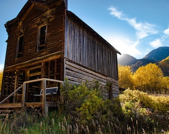 Ashcroft Ghost Town - Colorado Photography
