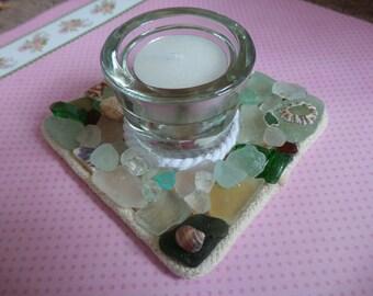 Beachcomber candle holder