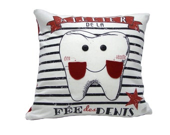 Pillow for the tooth fairy