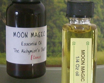 Moon Magic Essential Oil Wiccan Craft Pagan Altar Ritual Spell Goddess