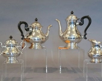 Brand New 40-Year Old Silverplate Tea Service - Out of Storage - Ready To Be Gifted