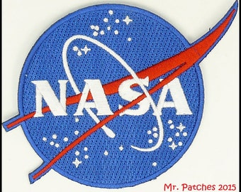 NASA Astronaut SPACE PROGRAM Patch Full Embroidered Free Shipping Us Seller