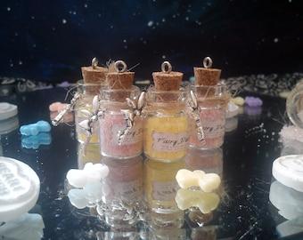 Fairy Dust Pendant Bottle Necklace