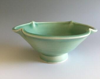 Pottery : Medium Celadon Porcelain Bowl