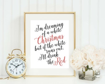 Funny Christmas Decoration - Christmas Decor - Christmas Party - Holiday Party - Quote Printable - Printable Christmas - Holiday Decoration