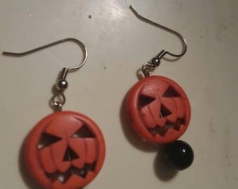 Halloween Jack O Lantern dangles