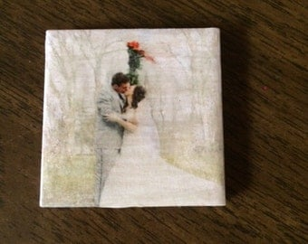 Custom Photo Ceramic Tile Magnets