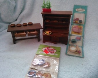 Doll House Furniture Vintage
