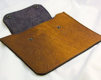 iPad Case - Bison Leather - Horizontal