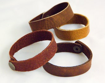 Cuff - Bracelet - Bison Leather