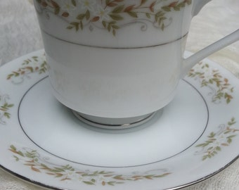 China Cup and Saucer,Springtime, International Silver, china , springtime pattern