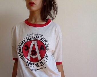carpenters apprenticeship vintage t-shirt