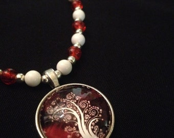 Orange Tree necklace