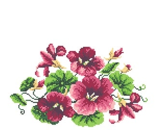 Embroidery_Indian cress_01