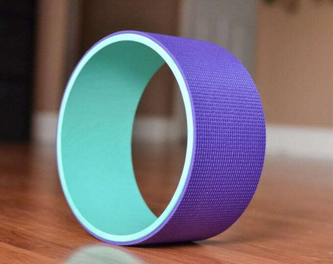"""10"""" Yoga Wheel- Teal&Purple"""