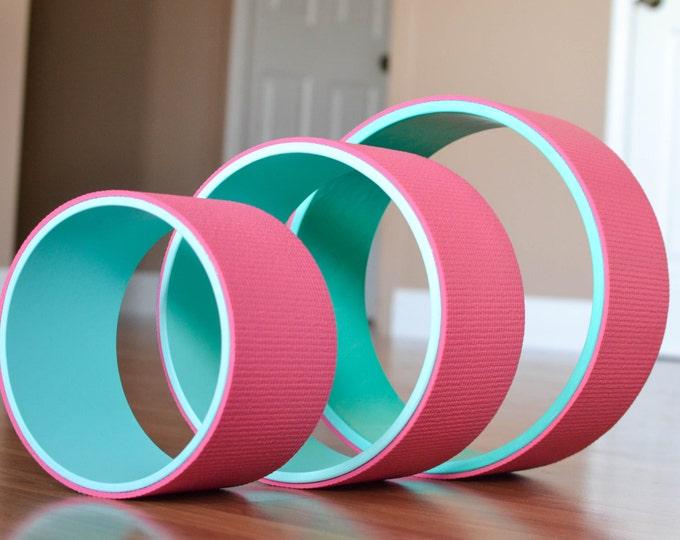 "Yoga Wheel Set- 8"", 10"" 12"" (Pink)"