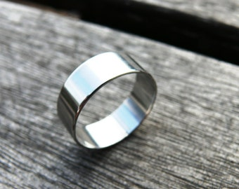 Titanium Ring, Wedding Ring, Engagement Ring, Mens Titanium Ring, Titanium Men Ring