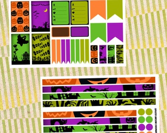 Halloween Weekly Bundle for Happy Planner