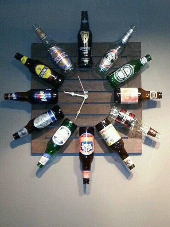 Man Cave Clock : Items similar to man cave clock on etsy