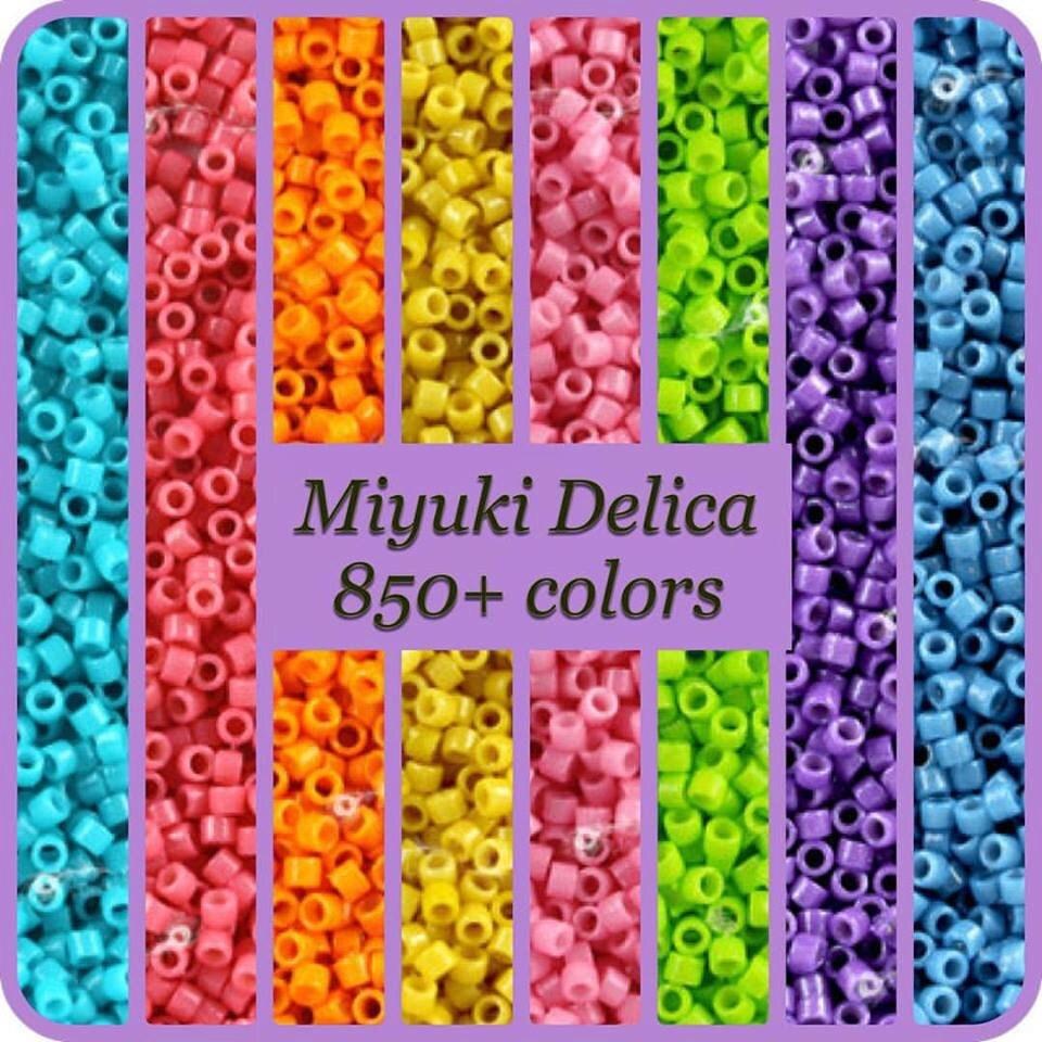 miyuki 110 delica seed beads opaque by hautehobbyseedbeads