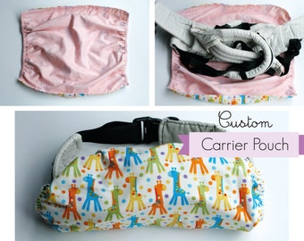 Reversible Custom Baby Carrier Pouch