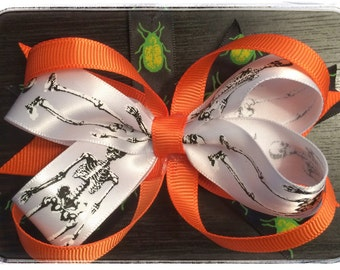 Halloween Boutique Stack Bow