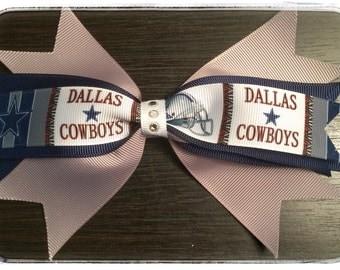 Dallas Cowboys Spike Bow