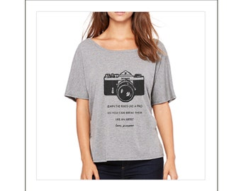 Photographer Shirt - Women's Graphic Tee - Picasso