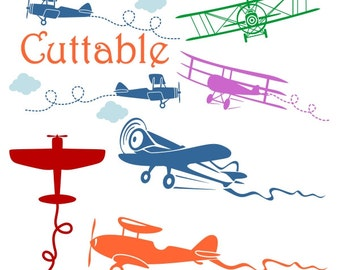 Airplane and Helicopter Cuttable Design