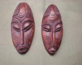Vintage African Masks