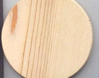 Wooden Basket Bottom Pine 5 inch round