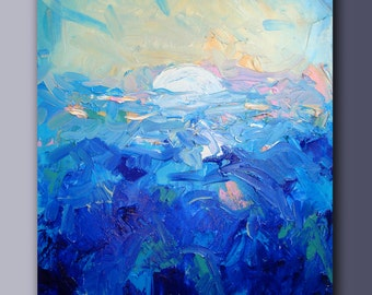 Sea. Abstract. Ukrainian art.