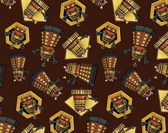 Doctor Who Exterminate Fabric From Springs Creative