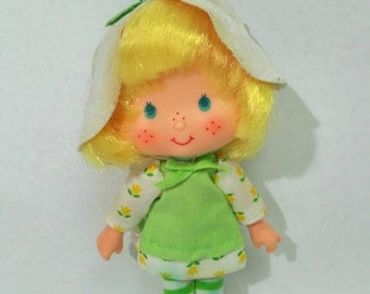 Vintage Strawberry Shortcake Orange Blossom Doll 1979, American Greetings, Made in Hong Kong